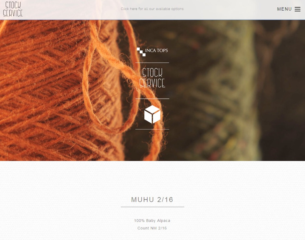 Inca Tops – Peruvian Alpaca Industrial & Hand Knitting Yarns